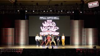 Dance Life Academy Squad - Portugal (Varsity Division) @ #HHI2016 World Prelims