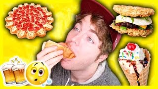 TASTING DRUNK PEOPLE FOODS!
