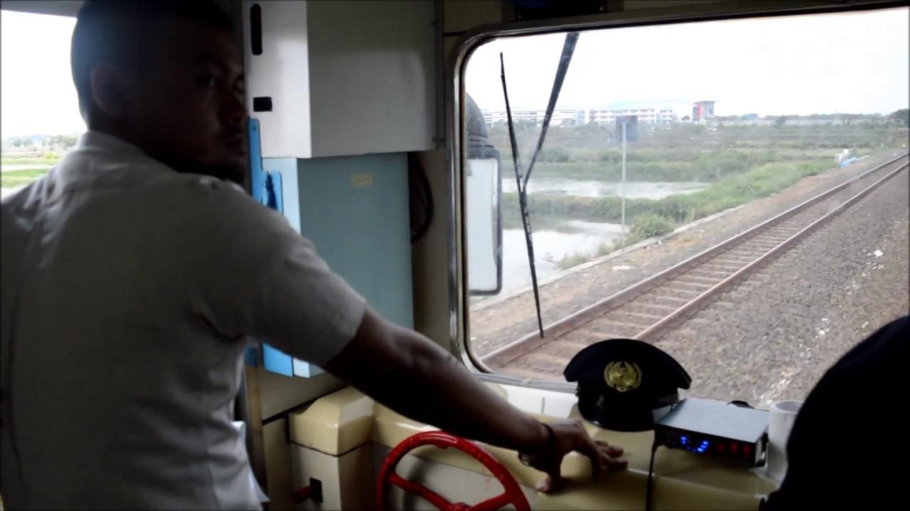 Serasa Jadi Masinis Kereta Api Cabin Ride Kereta Api Railclinic Youtube