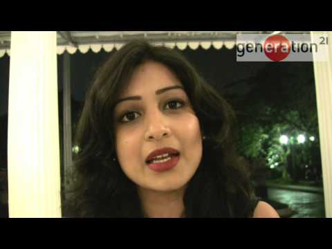 Pallavi Sharda at Generation 21: 'art and culture are being left behind'