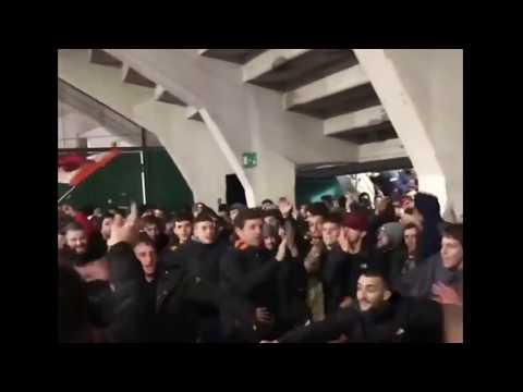 Romanisti in delirio a Firenze 20/12/2019