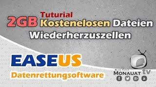 EaseUS Data Recovery + 2GB kostenlose Datenrettungsoftware - [Deutsch]