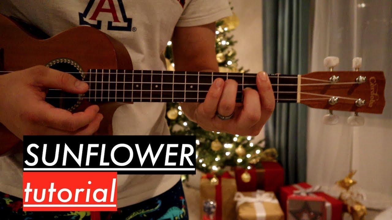 Download Post Malone, Swae Lee - Sunflower Ukulele Tutorial