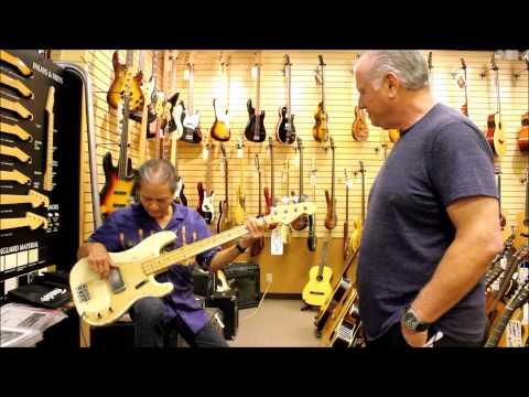 Phil Chen at Norman's Rare Guitars