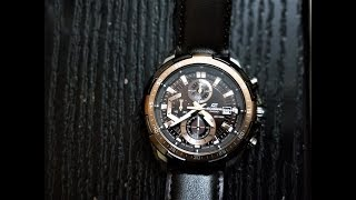 Casio Edifice Unboxing and Impressions -EFR-539L-5AVUDF