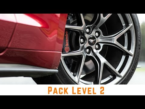 2018 Ford Mustang Gt Level 2 Performance Pack Pack 2 Package 2 Pp2