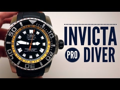 INVICTA PRO DIVER MASTER OF THE OCEANS  MEN'S WATCH REVIEW: 14659