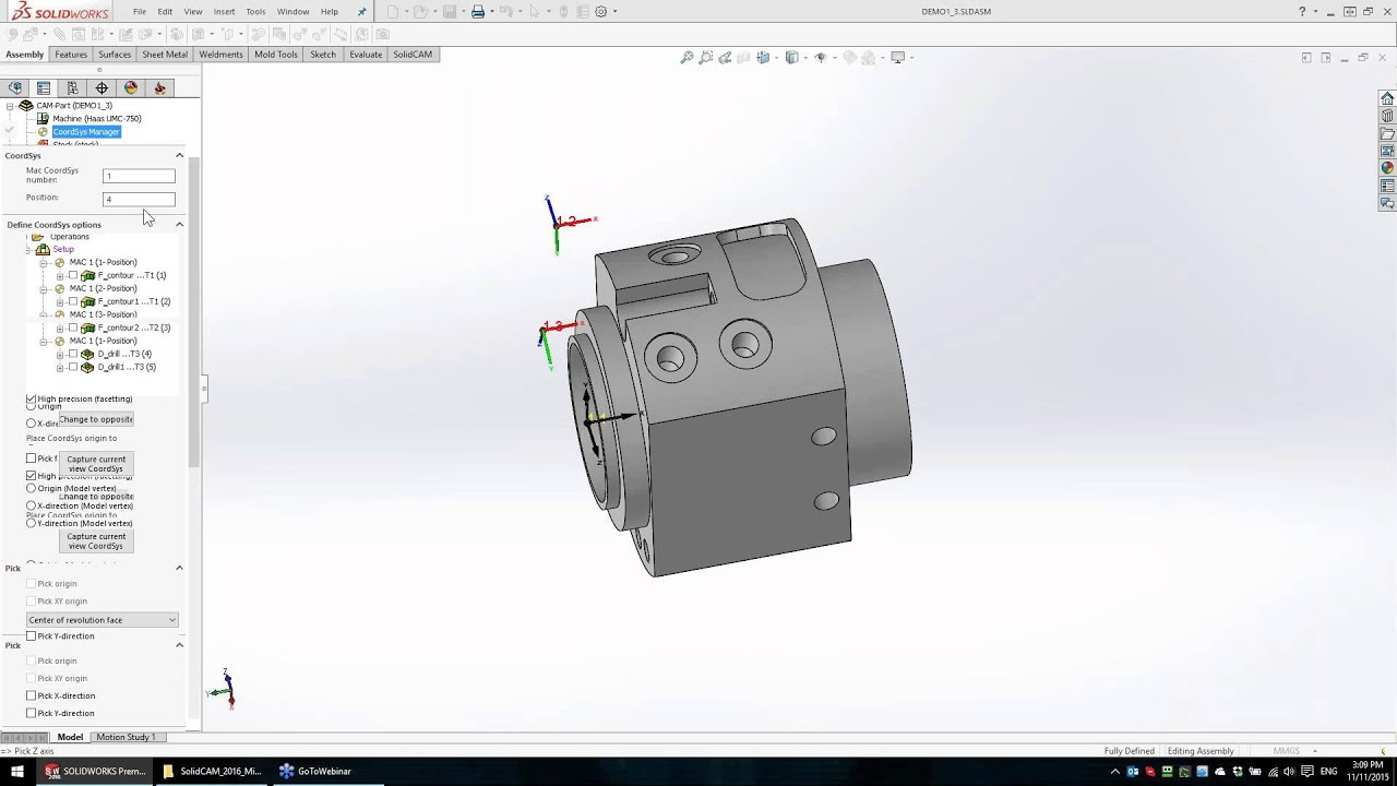 The Power of Mill-Turn in SolidCAM 2016 – Part 2
