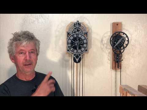 3D Printed Christian Huygens Clock Build