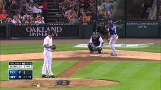 Detroit Tigers vs Texas Rangers Agust 21 2015