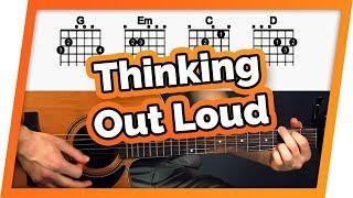 Thinking Out Loud Guitar Tutorial (Ed Sheeran) Easy Chords Guitar Lesson