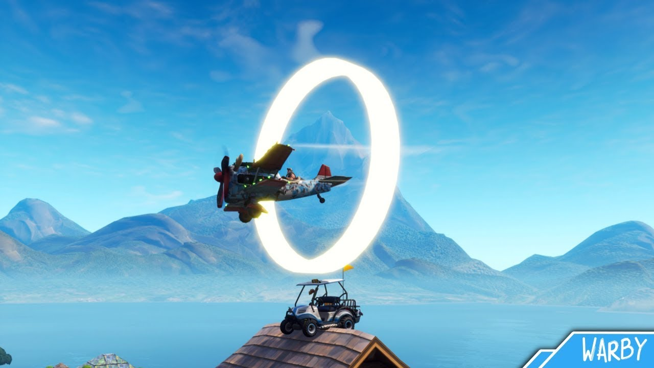 Fortnite Battle Royale All Golden Ring Locations Guide 14 Days Of