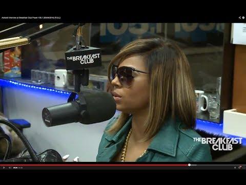 Ashanti Interview at Breakfast Club Power 105 1 (March 2014)