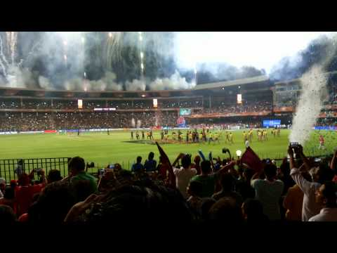 Kkr winning moment in bangalore in ipl 7 final