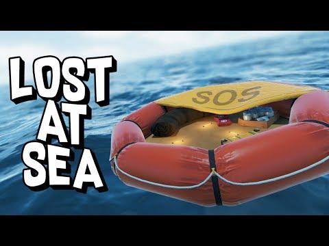 LOST AT SEA RAFT SURVIVAL! - Bermuda: Lost Survival