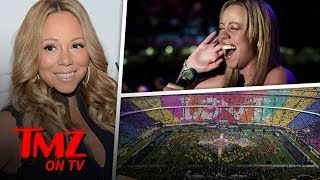 Mariah Carey Wants To Do The Super Bowl! | TMZ TV