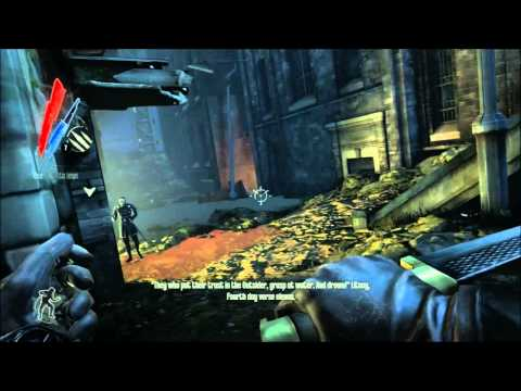 Dishonored - Knife of Dunwall DLC - The Surge Pure Stealth Playthrough |