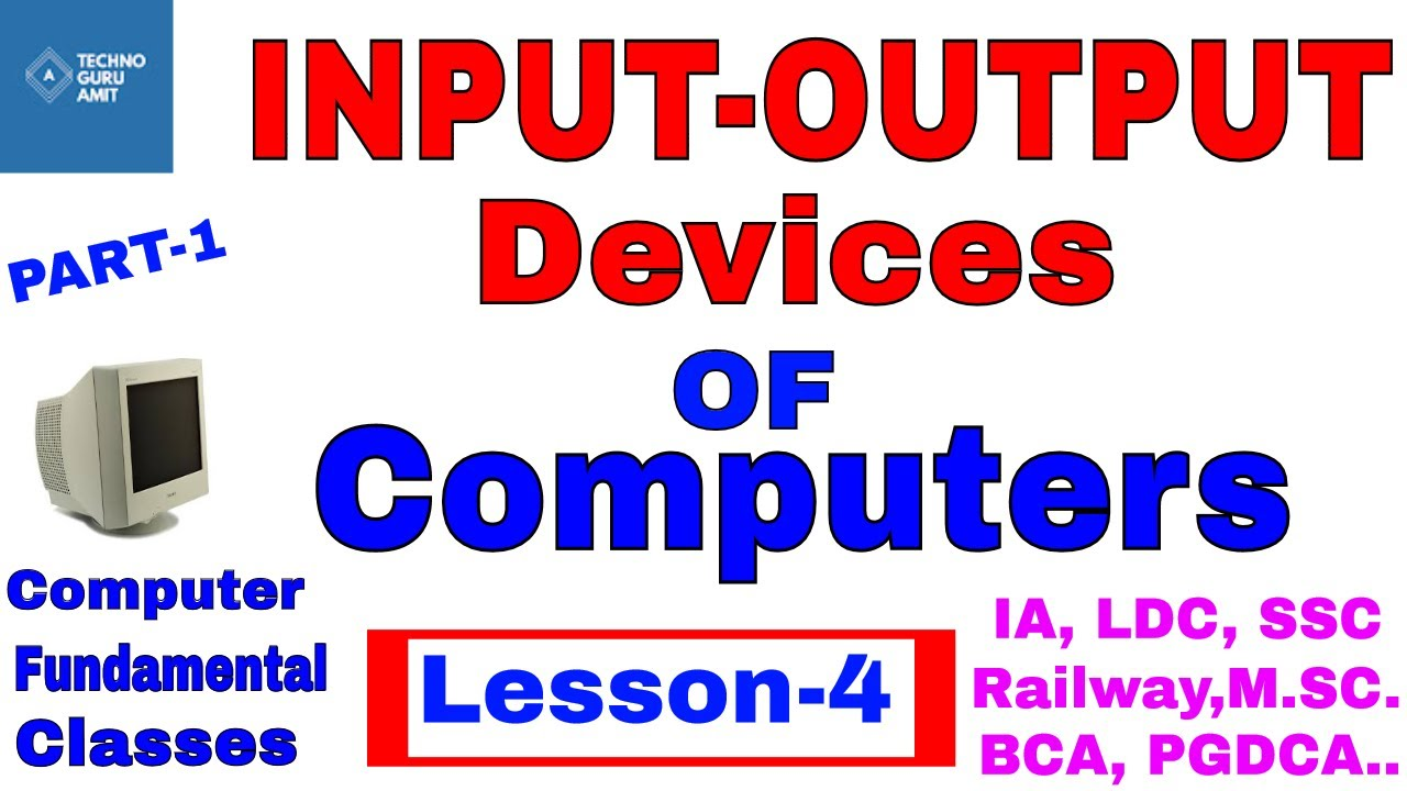 categories of output devices
