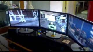 best 24 monitor for eyefinity setup aoc 2434pw