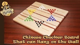 Making A Wooden Chinese Checker Board