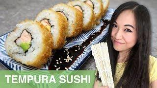 REZEPT: Tempura Sushi selber machen   japanisch kochen