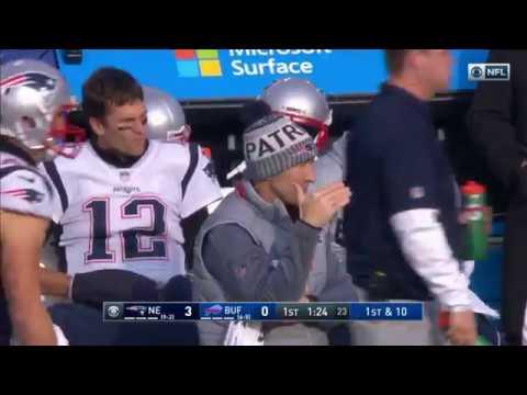Tony Romo Narrates Brady's Sideline Argument w/ McDaniels | Patriots vs. Bills | NFL Wk 13