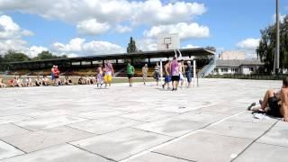 ВОВСЮ Моника(Турнир по уличному баскетболу Varva Streetball Challenge 911 Полуфинал с овертаймом: ВОВСЮ (Нежин) 9-7 Моника (Варва), 2012-08-15T04:24:33.000Z)