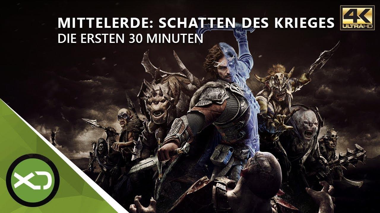 Mittelerde Karte 4k.Mittelerde Schatten Des Krieges Die Ersten 30 Minuten In 4k Xbox One X Gameplay