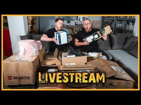 Naturensöhne Livestream #10 - Mega Unboxing die Zweite