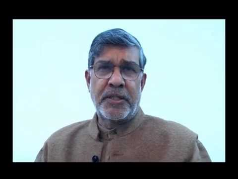 Kailash Satyarthi's message on International Day for Preventing Child Recruitment, Feb 12, 2015