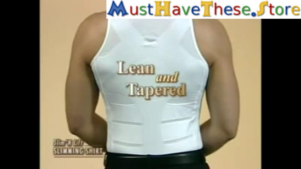 dde2e0120df5ec SLIMMING BODY SHAPER VEST FOR MEN - YouTube