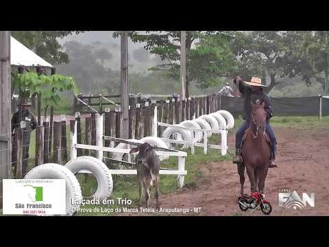 4ª Prova de Laço da Marca Tetéia - Araputanga - MT