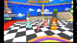 ROBLOX: Paper Mario Roleplay Part 2: Peach's Fan Girl