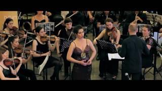 Ксения Бахритдинова  - Ария Лауретты - Видеосъемка Концертов Харьков
