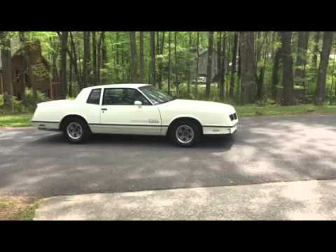 1984 Monte Carlo SS reverse and drive away