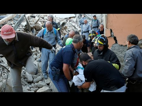 Italy Earthquake: Rescue teams seek survivors after 6.2 quake strikes Amatrice