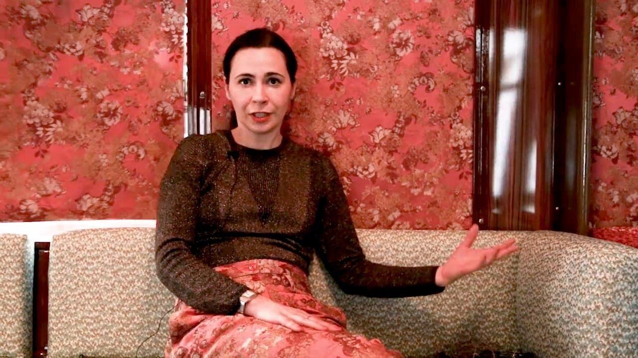 cristina celestino interview about rubelli and tram corallo - youtube