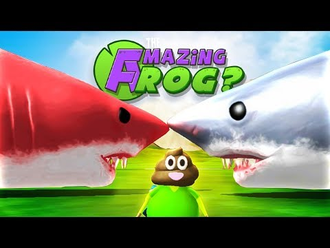 Cover Lagu RED MEGALODON VS MEGALODON & MORE TOILET FLUSHING! - Amazing Frog Gameplay (New Amazing Frog Update) STAFABAND