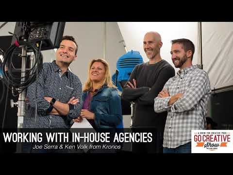 Winning New Clients & Working With In-House Production Agencies (with Joe Serra and Ken Volk) GCS182