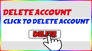 How to DELETE/TERMINATE Your Roblox Account! | Working 2019