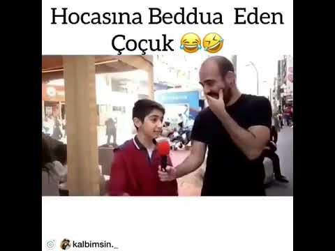 HOCASINA BEDDUA EDEN ÇOCUK
