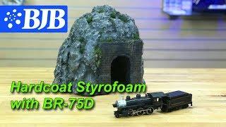 صنع السكك الحديدية الجبلية مع رغوة Hardcoating مع BR-75D