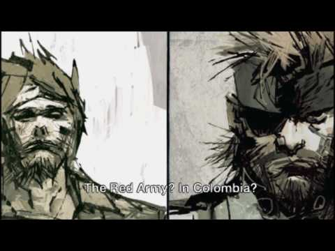 Metal Gear Solid Portable Ops All Cutscenes and Gameplay