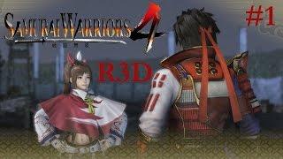 Samurai Warriors 4 - Legend of the Takeda PS4 Walkthrough Pt. 1: Battle of Kawanakajima {English HD}