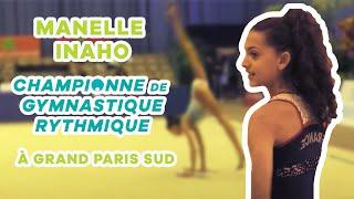 Manelle Inaho, une championne de gymnastique rythmique à Grand Paris Sud