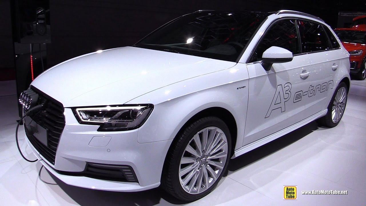 2017 audi a3 e tron exterior and interior walkaround. Black Bedroom Furniture Sets. Home Design Ideas