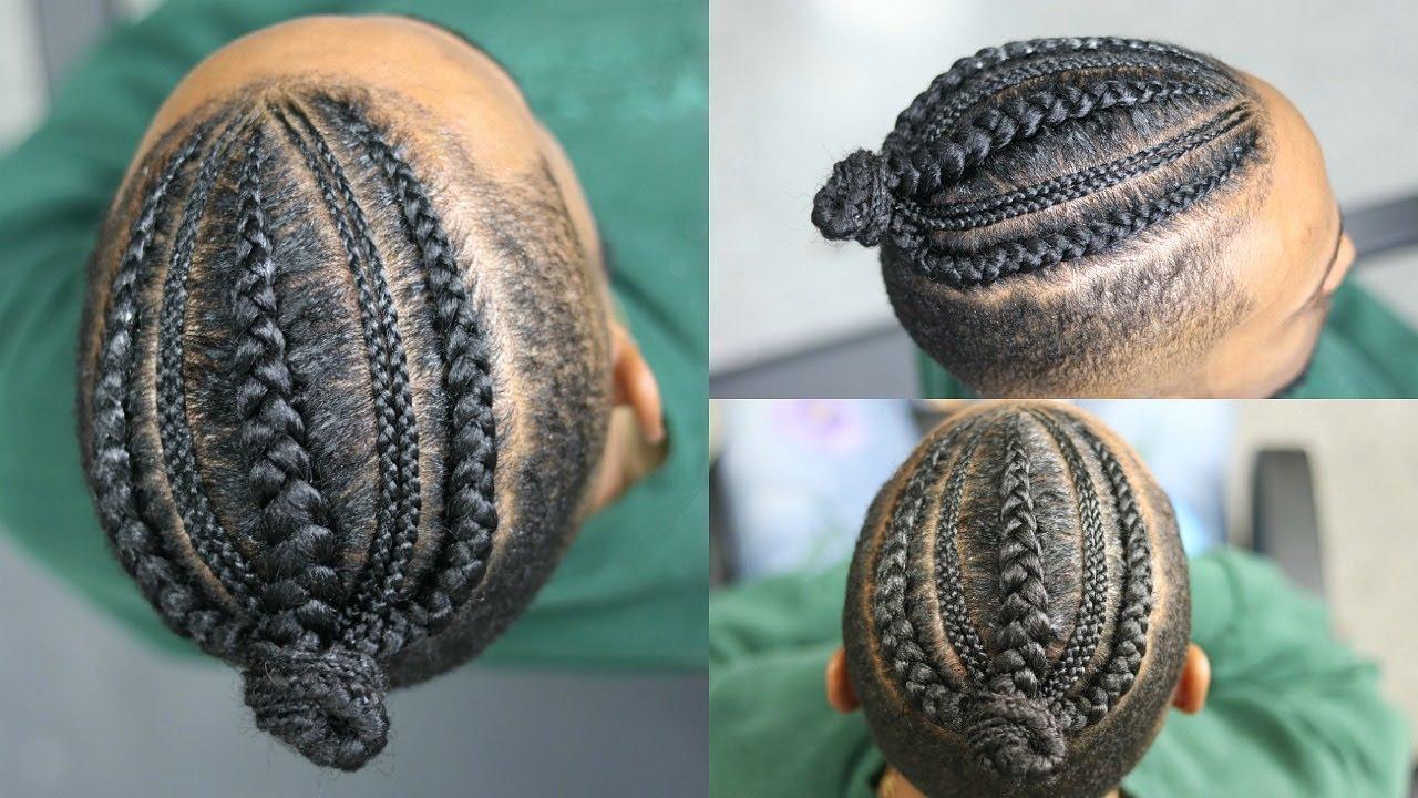 man braids braided