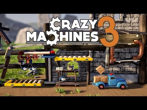 Crazy Machines 3 - Crazy Physics Based Puzzle Game! - Let's Play Crazy Machines 3 Gameplay