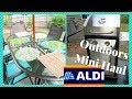 ALDI ~ Outdoor Mini Haul & Patio Table Refresh