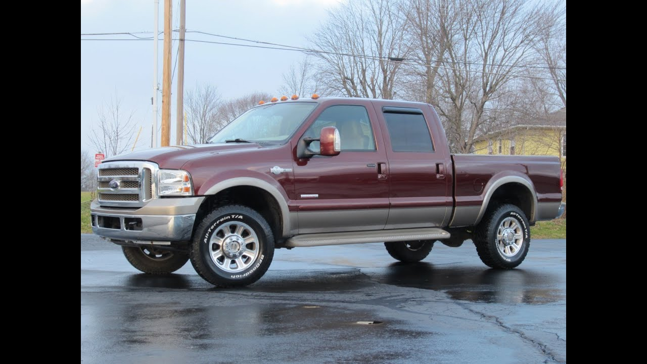 2007 ford f 350 king ranch 4x4 powerstroke sold youtube. Black Bedroom Furniture Sets. Home Design Ideas